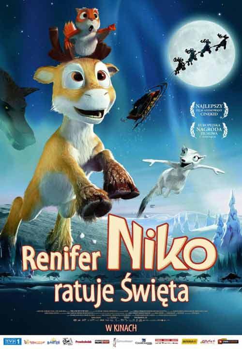 Renifer Niko ratuje Święta online na Zalukaj TV