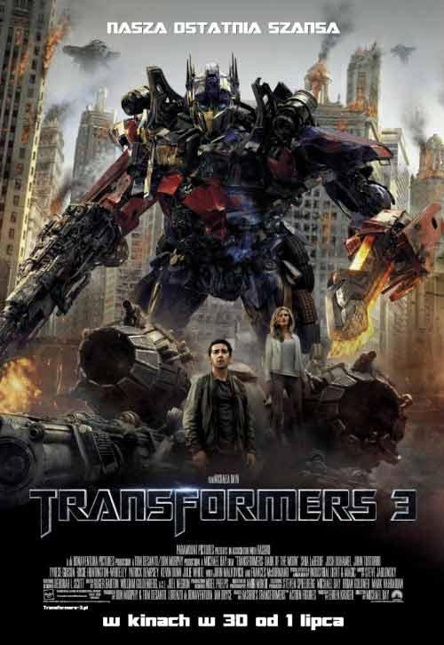 Transformers 3 online Zalukaj PL