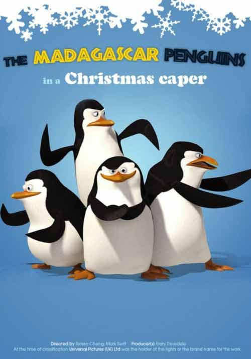 Pingwiny z Madagaskaru: Misja Świąteczna online na Zalukaj TV
