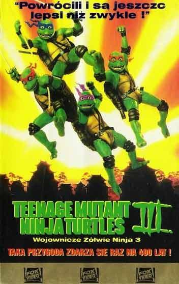 Wojownicze Żółwie Ninja III