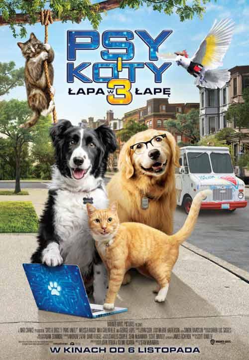 Psy i koty 3: Łapa w łapę Zalukaj TV